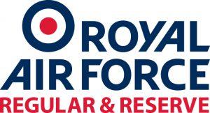 RAF Regular & Reserve Logo version 1 colour
