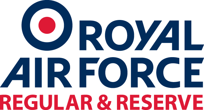 RAF Regular & Reserve Logo version 1 colour