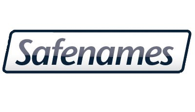 Safenames new logo