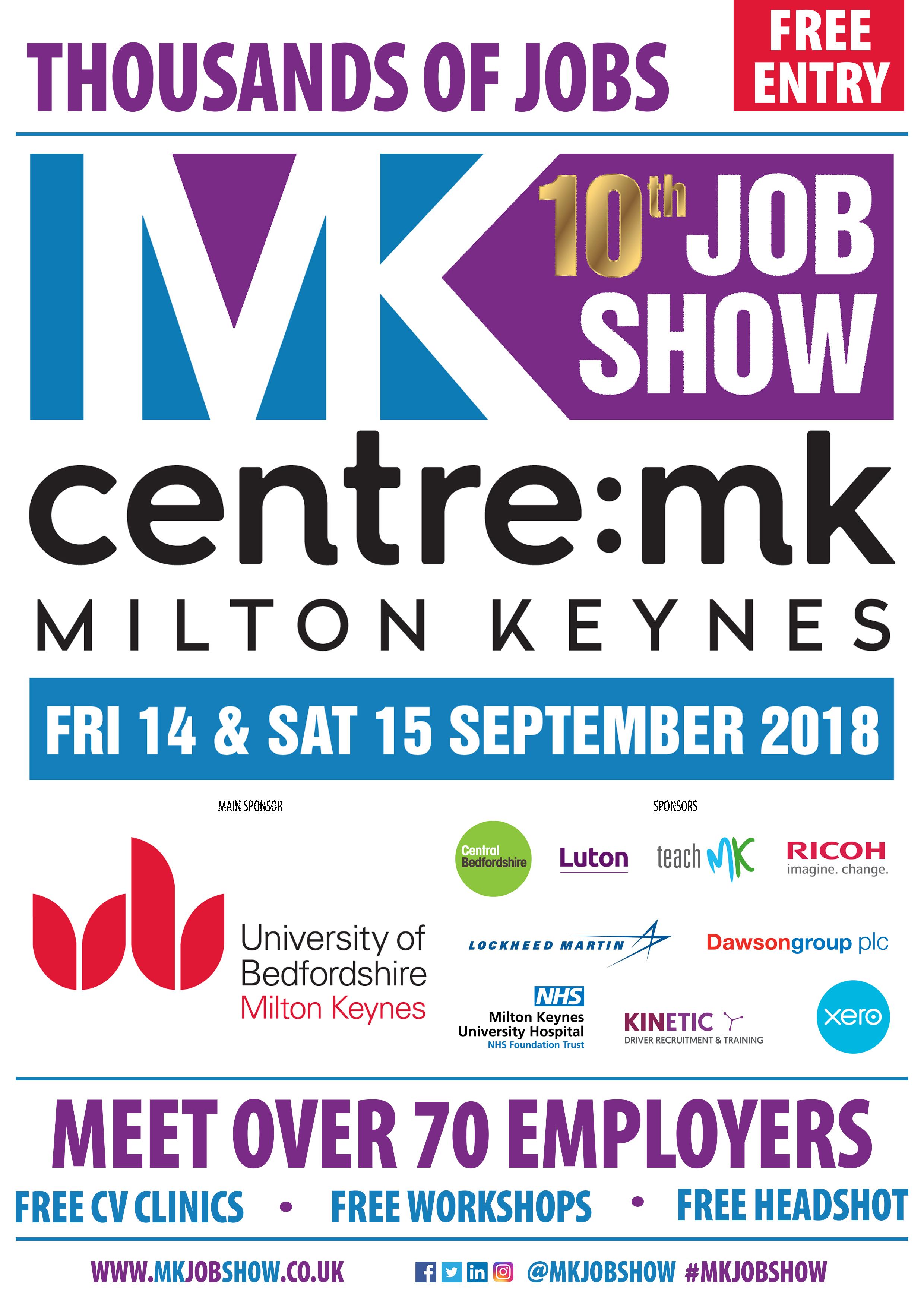 MK Job Show Poster