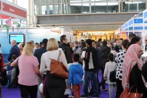 MK Job Show Busy Aisles
