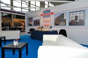 MK Job Show Dominos Stand