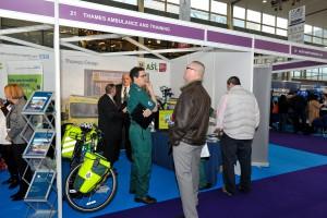 MK Job Show Thames Ambulance Stand