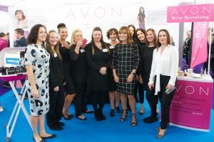 MK Job Show Avon Stand - Lorraine Kelly