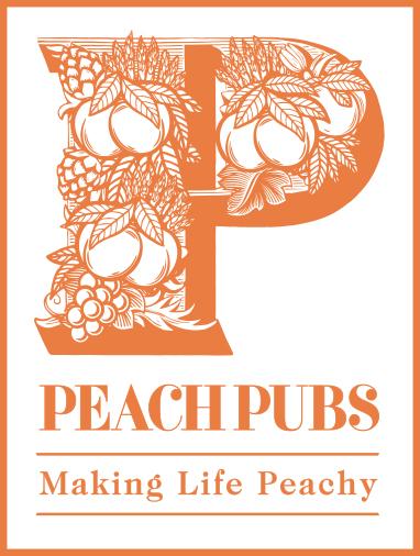 Peach Pubs logo 2021